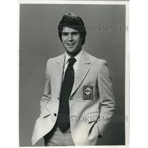 1980 Press Photo Jim Lampley sportscaster for ABC Sports. - mjc40466