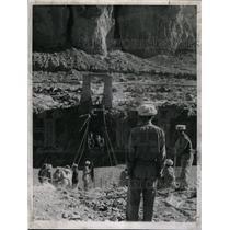 1961 Press Photo Hunza River Bridge Northern Pakistan - RRX65033