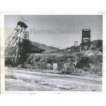 1952 Press Photo Weather Bureau Cloud Mine Copper Mine