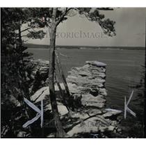 1932 Press Photo Lake superior region Michigan coast - RRW73011