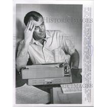 1963 Press Photo Oscar Griffin, Pulizter Prize winning reporter