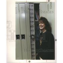 1990 Press Photo West Bloomfield High School Michigan S