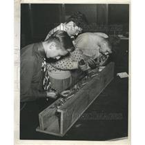 1949 Press Photo Frank Kubik John Nurrafato Francis - RRW43471