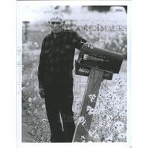 1986 Press Photo Navajo Indians Native Americans Mich - RRX87911