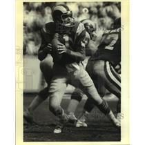 1980 Press Photo Los Angeles Rams football player Pat Haden - nos16301