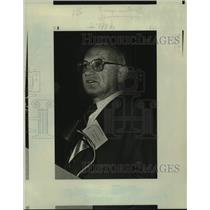 1984 Press Photo Milton Friedman, Nobel Prize winner in Economics - nob78118