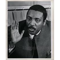 1970 Press Photo Civil Rights Speaker Dick Gregory - RRW19003