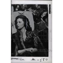 1949 Press Photo Susan Hayward American New York Work - RRW75263