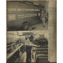 1973 Press Photo John Adams Ann Arbor chemical van - RRW49239