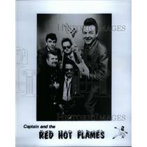 1933 Press Photo Red Hot Flames David Booker Colorado - RRX57497