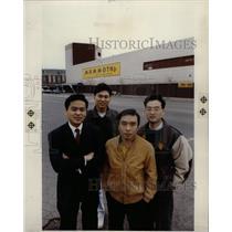 1990 Press Photo Mammoth Shopping Center Detroit