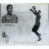 1970 Press Photo Basketball player Luther Rackley of Cincinnati Royals.