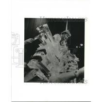 1989 Press Photo Karate Power Team, Evangelicals, Houston, Texas - hca49948