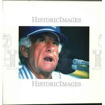 1994 Press Photo Bob Uecker, NBC Baseball Broadcast Commentator - mjc41649
