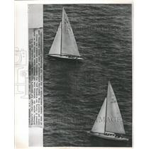 1964 Press Photo America's Cup Newport - RRW46137