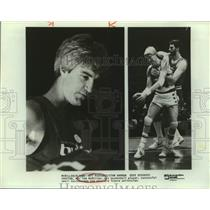 Press Photo Washington Bullets Basketball Player Tom McMillen - sas22350