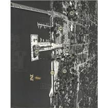 1960 Press Photo Aerial Bradenton Florida Waterfront - RRX92101