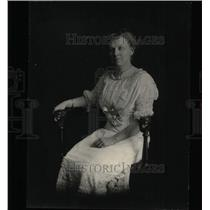 1912 Press Photo Mrs. J.B. Finucane/Socialite