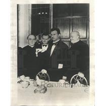 1932 Press Photo Rev Charles ODonnell University Dame - RRX88979