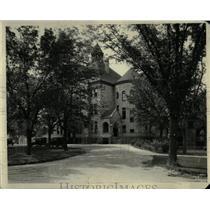 Press Photo Duke University Campus Libary Building - RRX61511