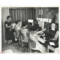 1959 Press Photo Newspapers St Pete Times Departments - RRX86167