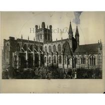 1920 Press Photo Cathedral Chester England Arab Abbey - RRX78911