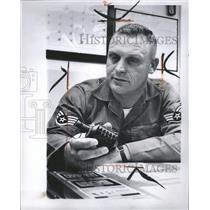 1966 Press Photo Charge Bomb National Guard Group - RRW33013