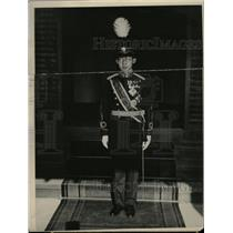 1927 Press Photo Imperial Japanese Throne Chichibu - RRX72775