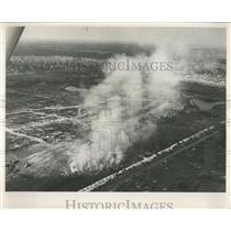 1962 Press Photo Smoke from a Saint Petersburg Landfill - RRX84151