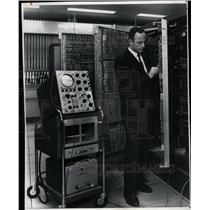 1966 Press Photo Equipment in Combat Operations Center - RRX69995