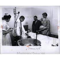 1965 Press Photo Poison Control Center Hospital