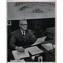 1967 Press Photo Verner Crayne Penney's