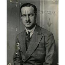 1929 Press Photo Paul Mayo Former Denverite Durham Body - RRW12517