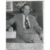 1949 Press Photo Dr. Raymond B. Allen