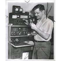 1952 Press Photo Operator John McAdams - RRW36473
