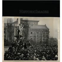 1934 Press Photo College city new York students group - RRX66719