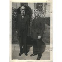 1930 Press Photo Gen.Adolphus & David, Arctic Explorers- RSA97873