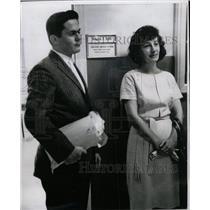 1965 Press Photo Mrs. BJ Gaillot & Son Kenneth Protest - RRW08783