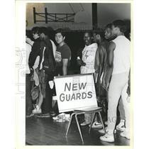 1984 Press Photo Life Guard Test Beach Patrol Chicago - RRW44211