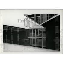 Press Photo Physics Department Auburn University - RRW70255