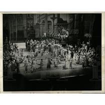 1935 Press Photo Opera Scene Verdi's Aida Canal Opening - RRW55789