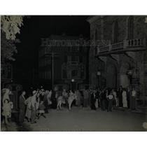 1935 Press Photo Colorado Central City Crowds Opera - RRX76261