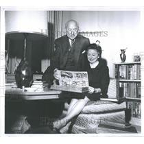 1961 Press Photo Mr. & Mrs. John M. Toolin
