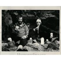 1985 Press Photo Glenn and Pete Dunmire