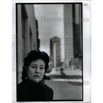 1991 Press Photo Jeannette Dran Activist - RRX56797