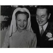 Press Photo Reginald Gardiner Wedding Day With Bride - RRW78091