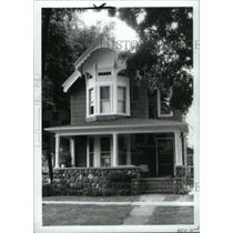 1992 Press Photo Ann Arbor Old West Side Tour of Homes - RRX41203