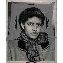 1953 Press Photo Erma Hodges - RRX41085