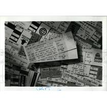 Press Photo Advertisement For Ticketmaster Services - RRW70165