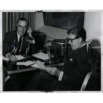 1963 Press Photo Radio Bud Guest Arthur Godfrey - RRW00813
